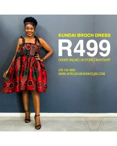 Kundai Broch Dress