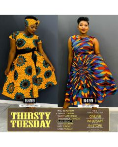 Thirsty Tuesday Dress