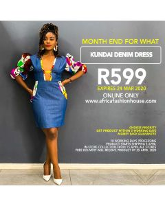 Kundai Denim Dress
