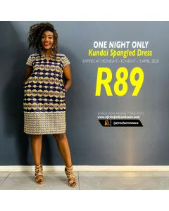 Kundai Spangled Dress