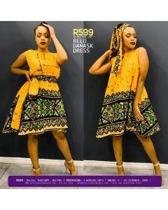 Relo Damask Dress