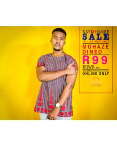 Mohaze Dineo Shirt Only