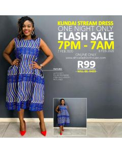 Kundai Stream Dress
