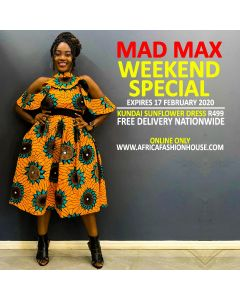 Kundai Sunflower Dress