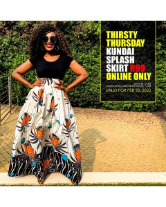 Kundai Splash Skirt