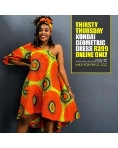 Kundai Geometric Dress