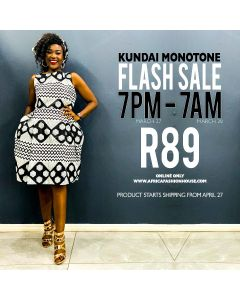Kundai Monotone Dress