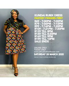 Kundai Rubix Dress